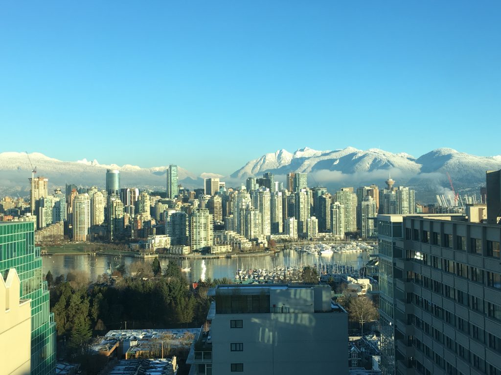 Enjoy the view from our Vancouver BC office